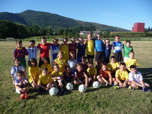 Enfants du FC Garazi